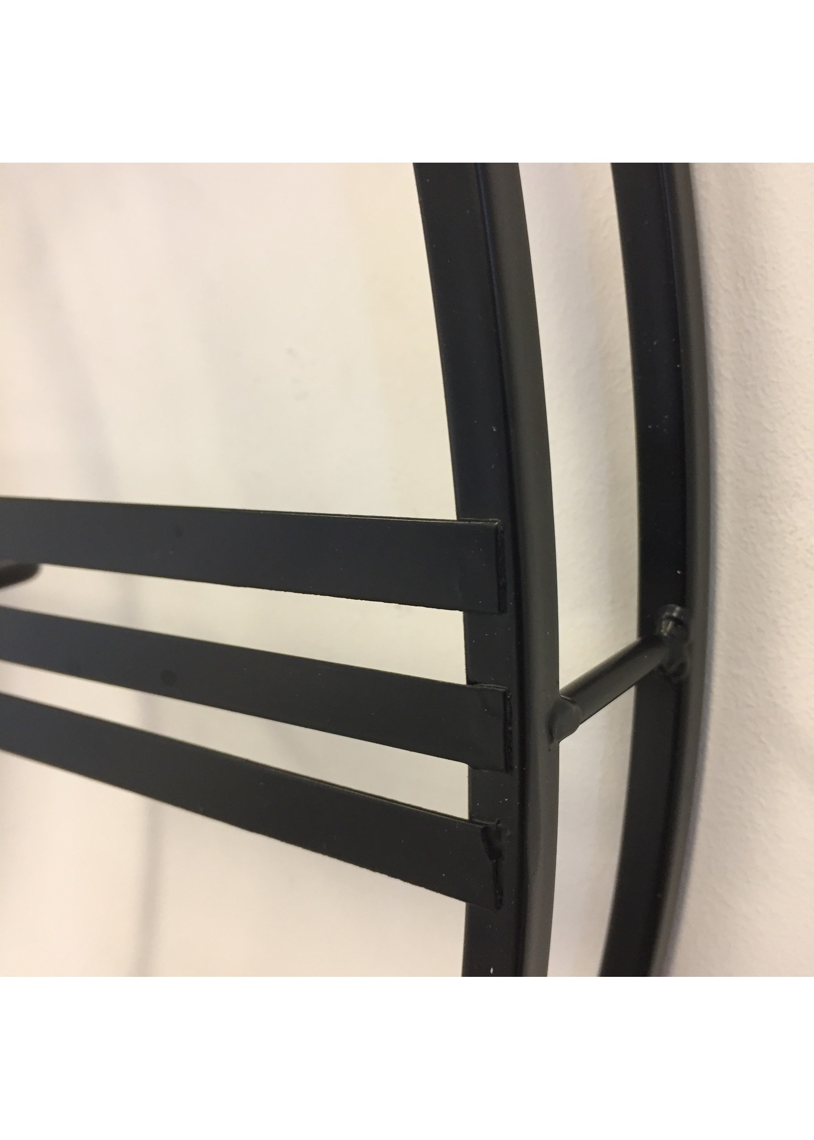 ChantalBrandO Wandklok BLACK GEAR 70 INDUSTRIEEL DESIGN