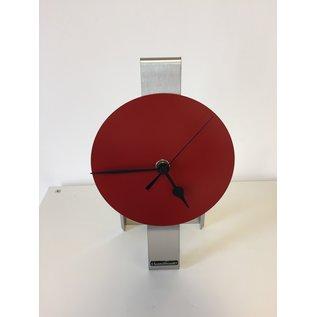 ChantalBrandO Tafelklok RED SPIRIT BLACK POINTERS DUTCH DESIGN