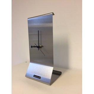 ChantalBrandO Tafelklok GRACE Silver Dutch Design
