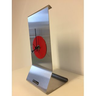 ChantalBrandO Tafelklok Grace RED Modern Dutch Design
