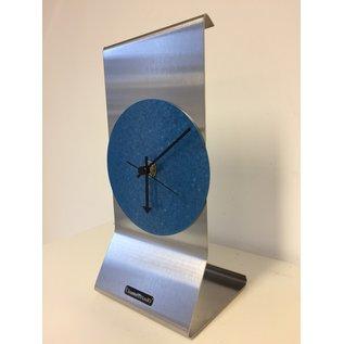 ChantalBrandO Tafelklok GRACE in Blue Modern Dutch Design