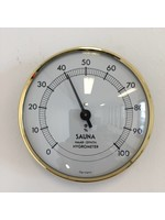 NiceTime Sauna Hygrometer Durchmesser von 10,cm