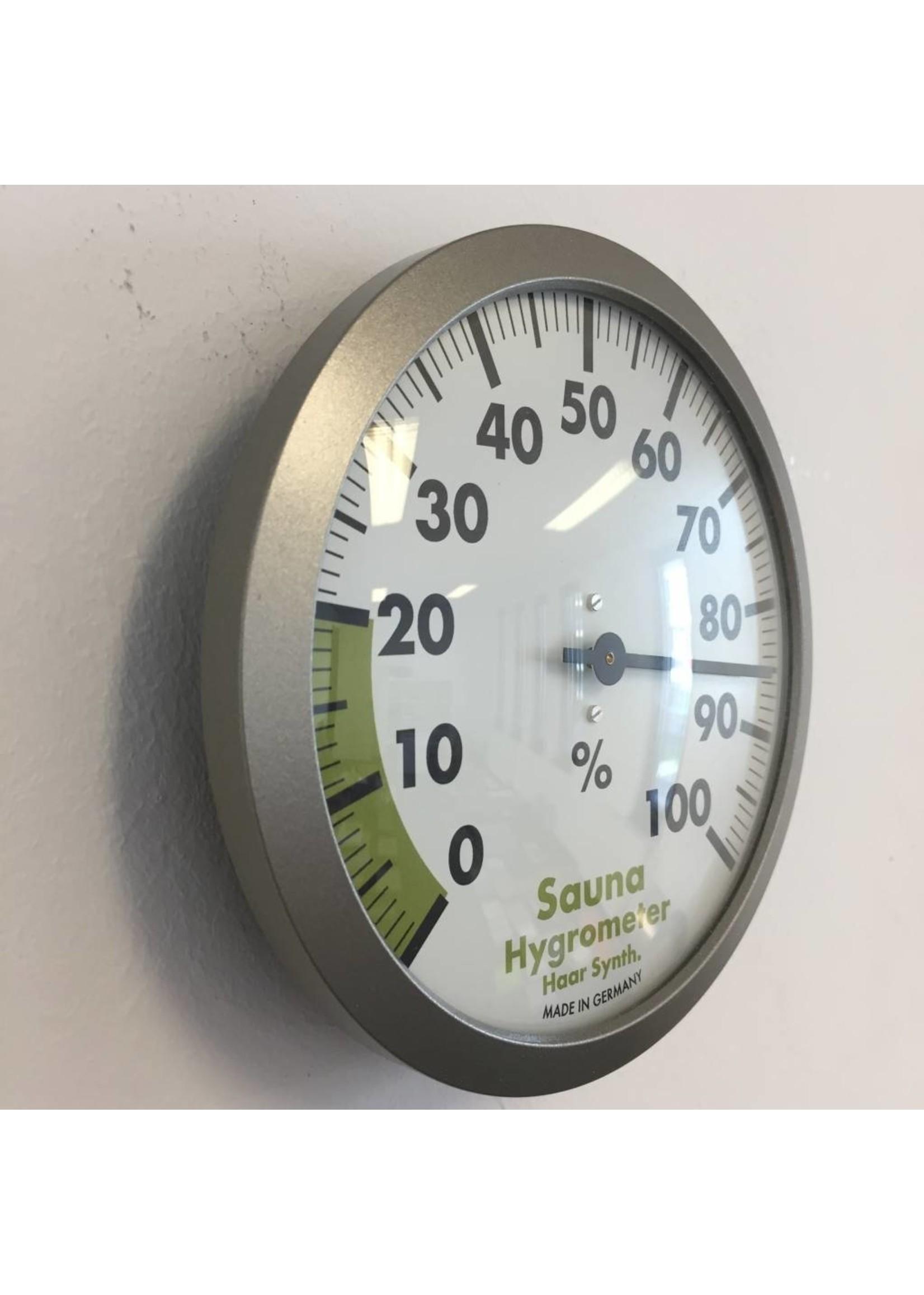 NiceTime Sauna Hygrometer 12 cm diameter