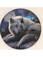 NiceTime Wandklok voor kinderen met wolven