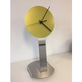 ChantalBrandO Tafelklok Rock around the Clock LIME GREEN Design