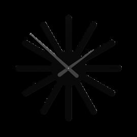 Callea Callea Italian Design Wandklok Wandklok ASTERIX zwart