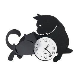 Arti & Mestieri Tedere klok om Mamma Cat op te hangen