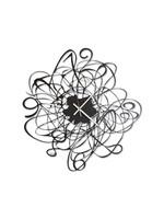 Arti & Mestieri Wandklok Italiaans Design Doodle Arti e Mestieri