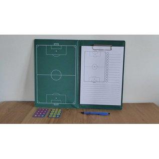 Taktisport Trainersmap Basic: magnetisch veld, magneten en schrijfblok