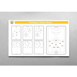 Taktiekbord Custom Print  in  8 maten