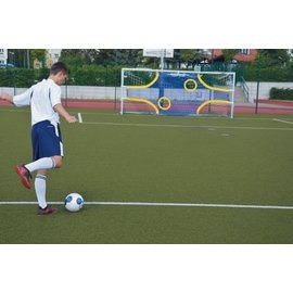 Goalshot: Professionele doelwand met 4 open zones 5mx2m