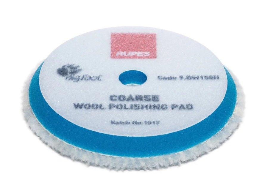 Blue Wool Polishing Pad Coarse Ø 150 mm 2 ér Pack