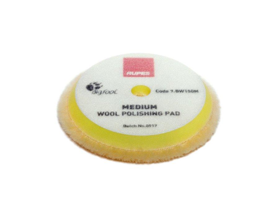 Yellow Wool Polishing Pad Medium