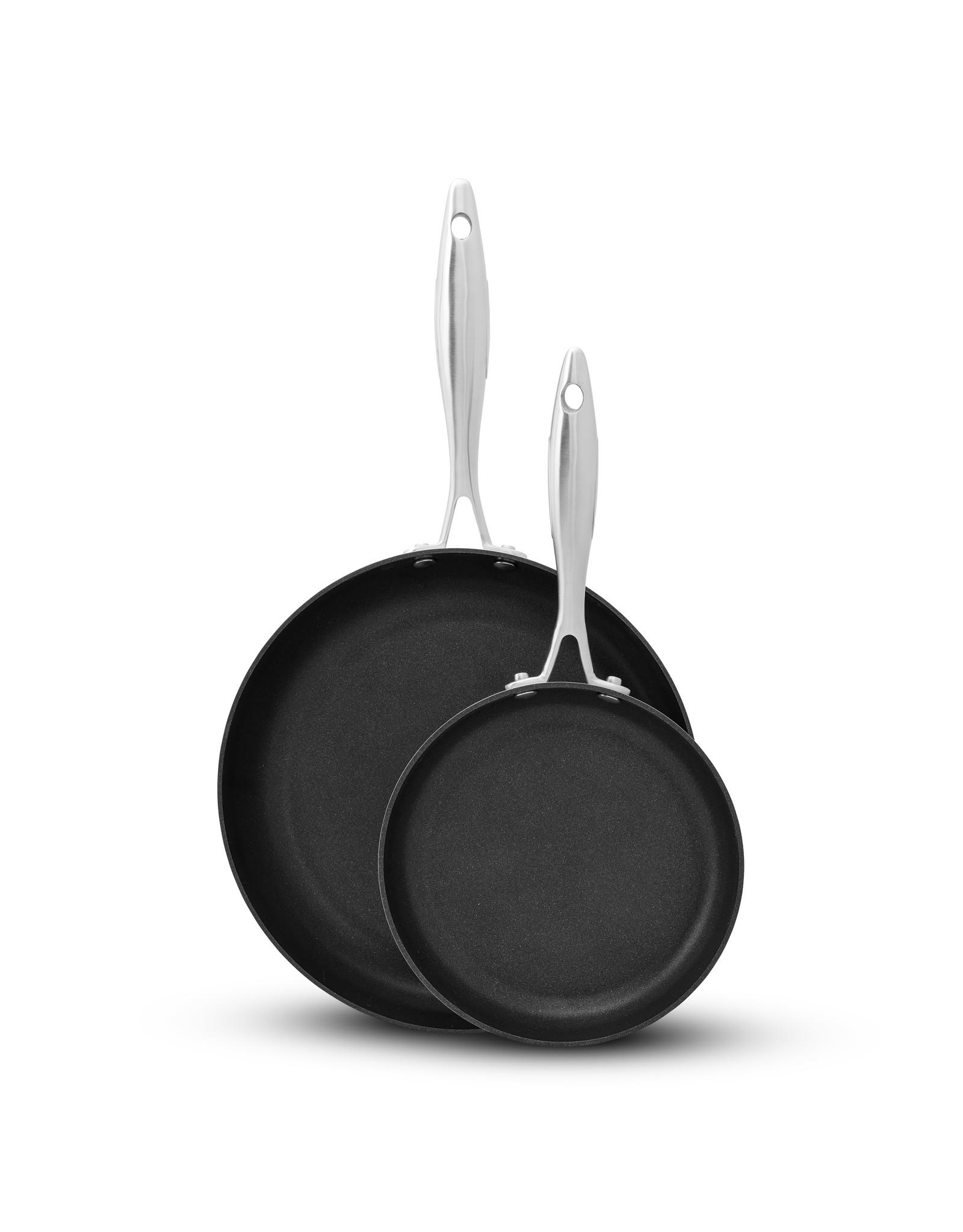 Scanpan Scanpan. Set van 2 koekenpan in hoes, 20 cm + 28