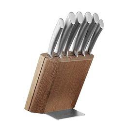 Scanpan Scanpan. 7-delige messenblokset. Classic steel.