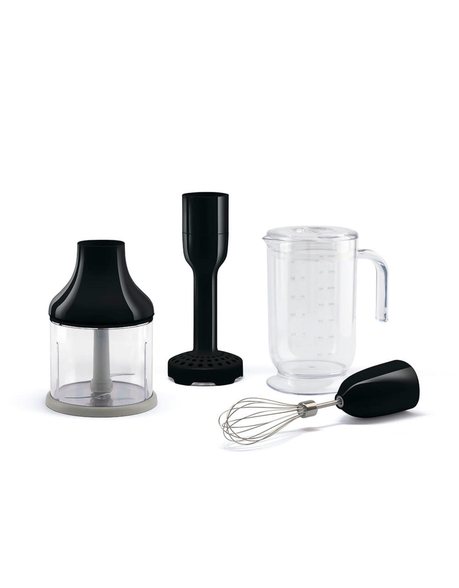 Smeg Smeg. Staafmixer + Accessoires.  Zwart