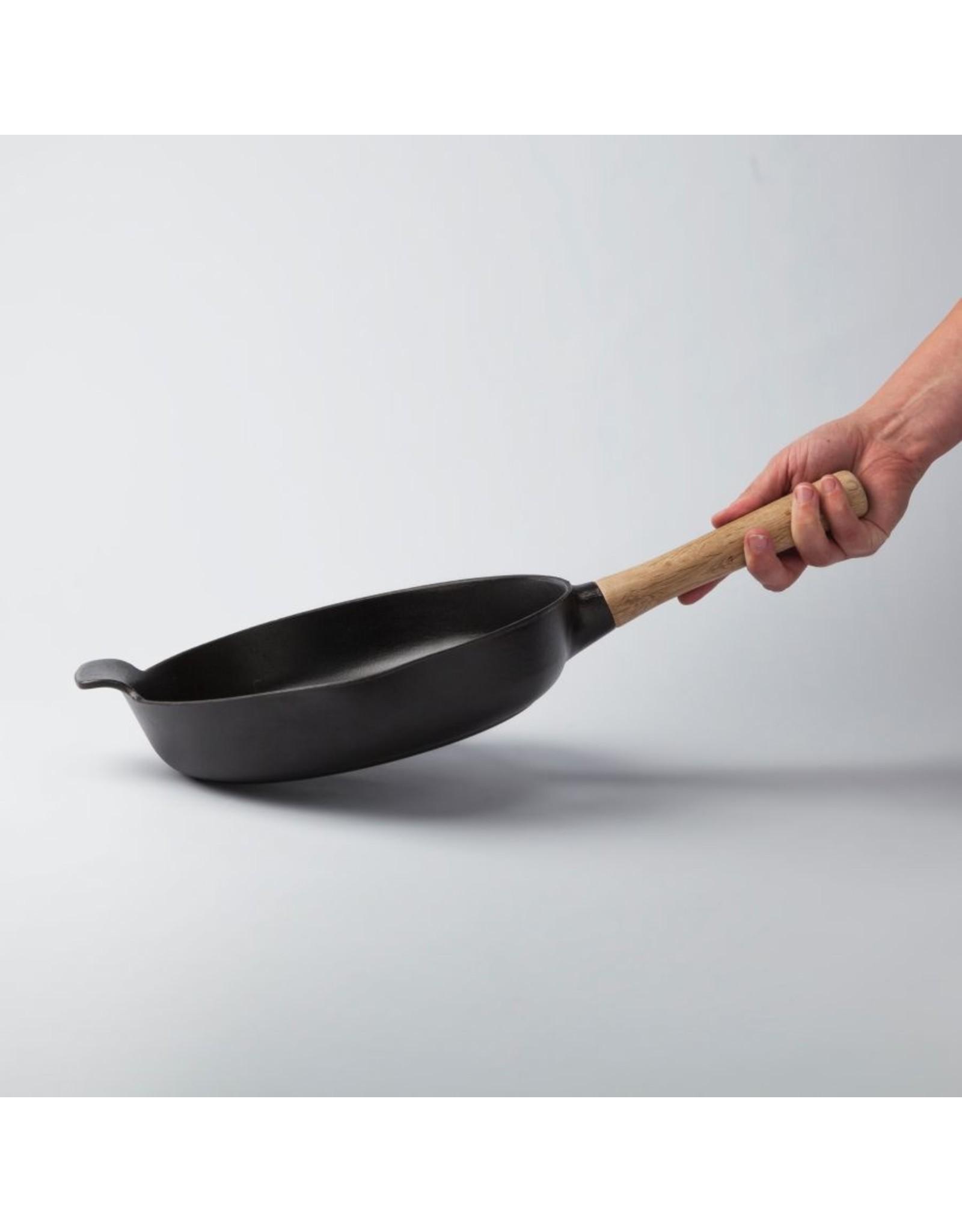 Berghoff BergHoff. Ron Line braadpan 26 cm gietijzer zwart