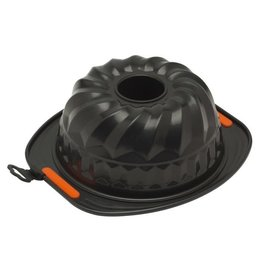 Le-Creuset. TULBAND VORM 22CM STAAL