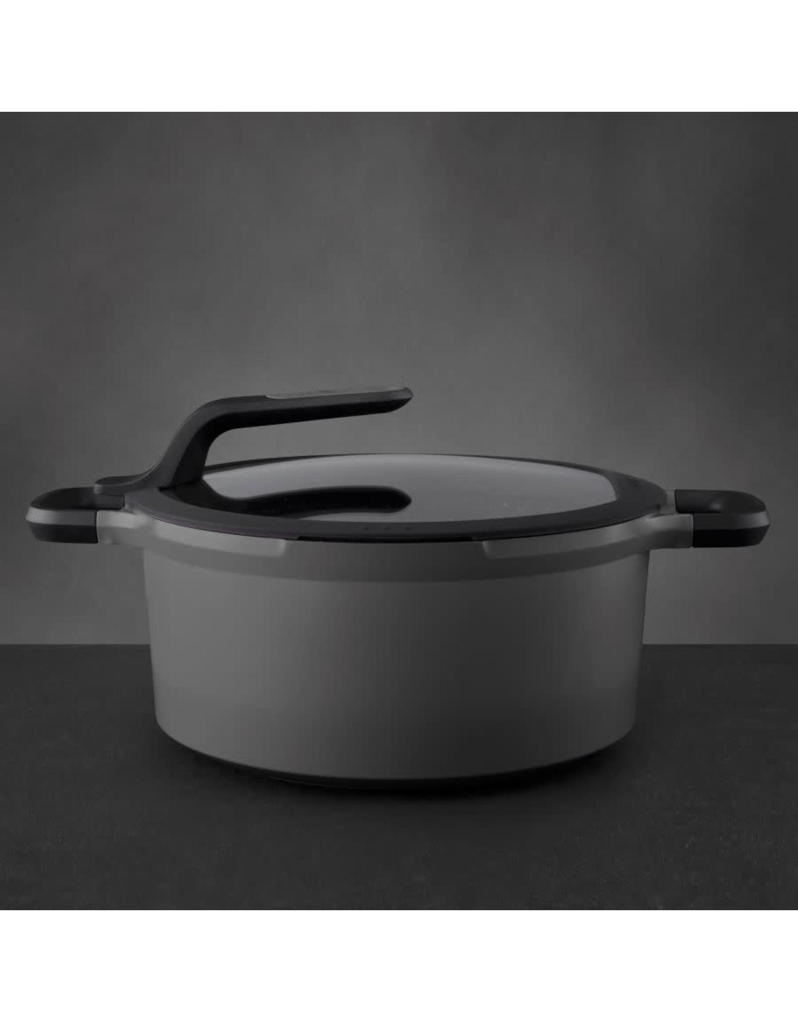 Berghoff BergHoff. Gem Line kookpan met deksel 28 cm 7,3L grijs5