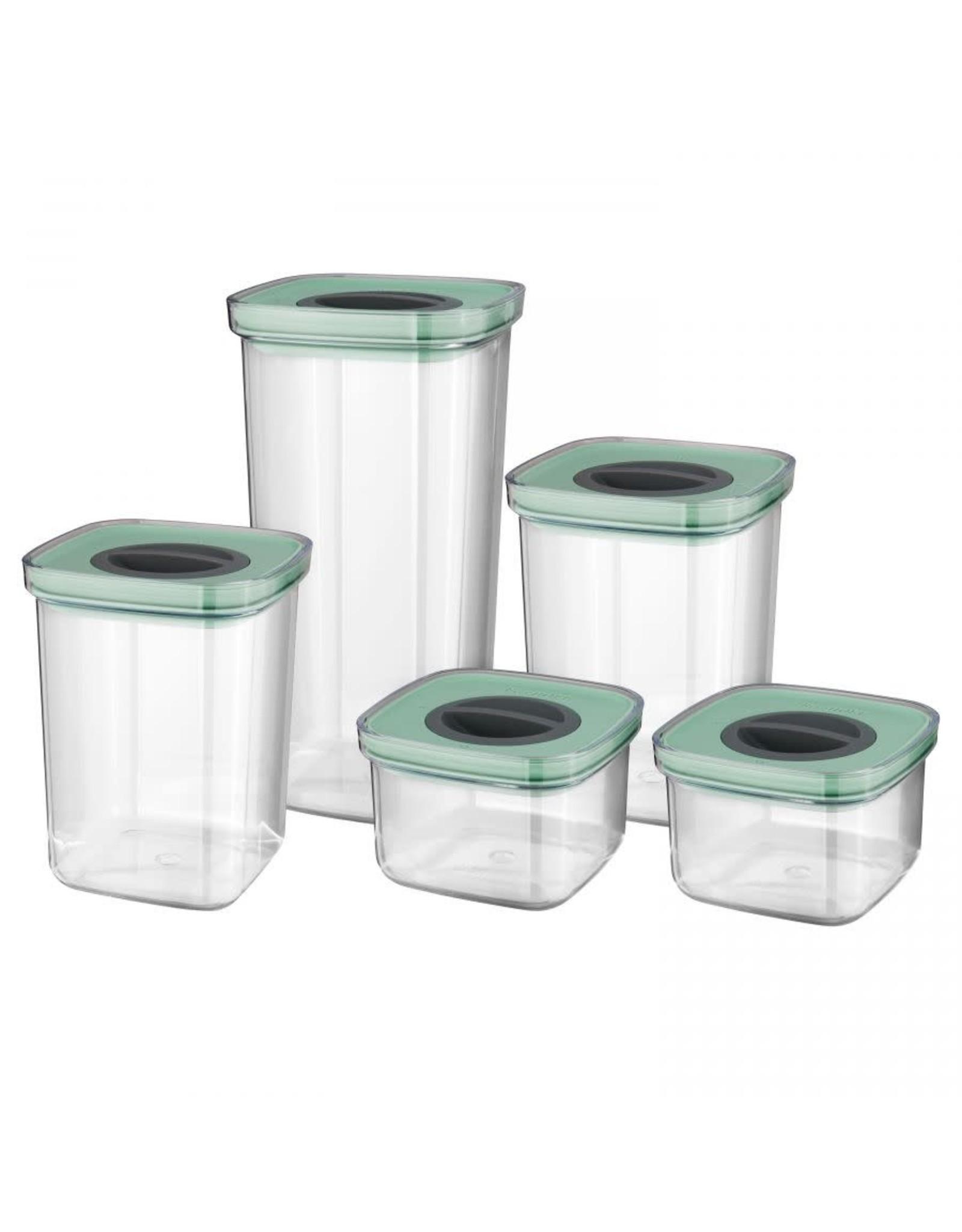 BergHoff. Leo Line 5-delige set smart seal bewaardozen