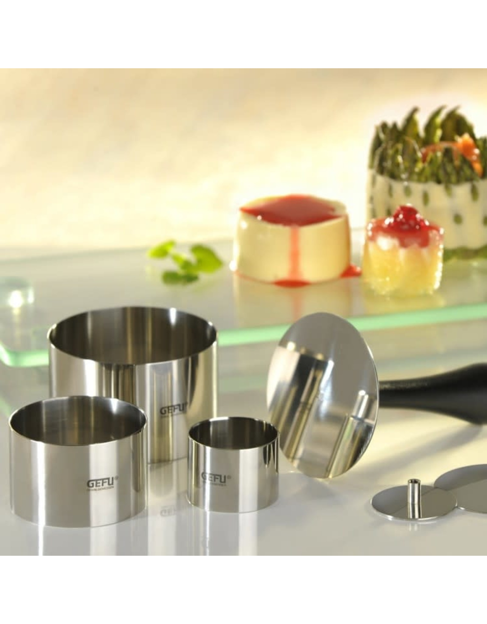 Gefu. Professional dish-ring set FORMIDABLE, 10 pcs.