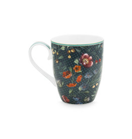 pip-studio Pip-Studio. Mug Large Winter Wonderland Overall Dark Blue 350ml