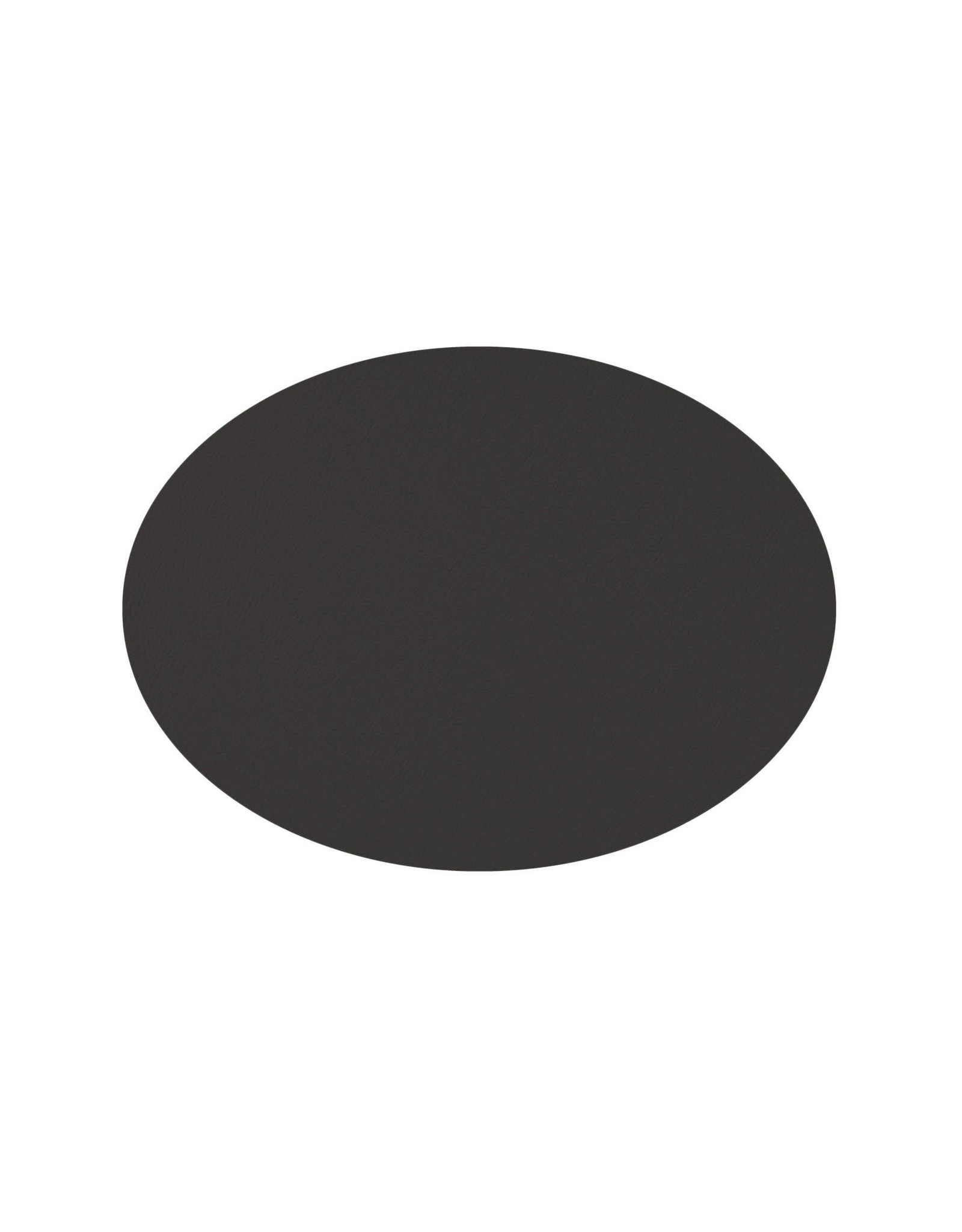 Mesapiu Mesapiu. Placemat ovaal lederlook black