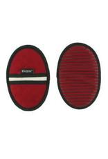 ziczac Ziczac. 2 Pannengrepen met Antislip Strips in Silicone en Geïntegreerde Magneet rood 13x20cm