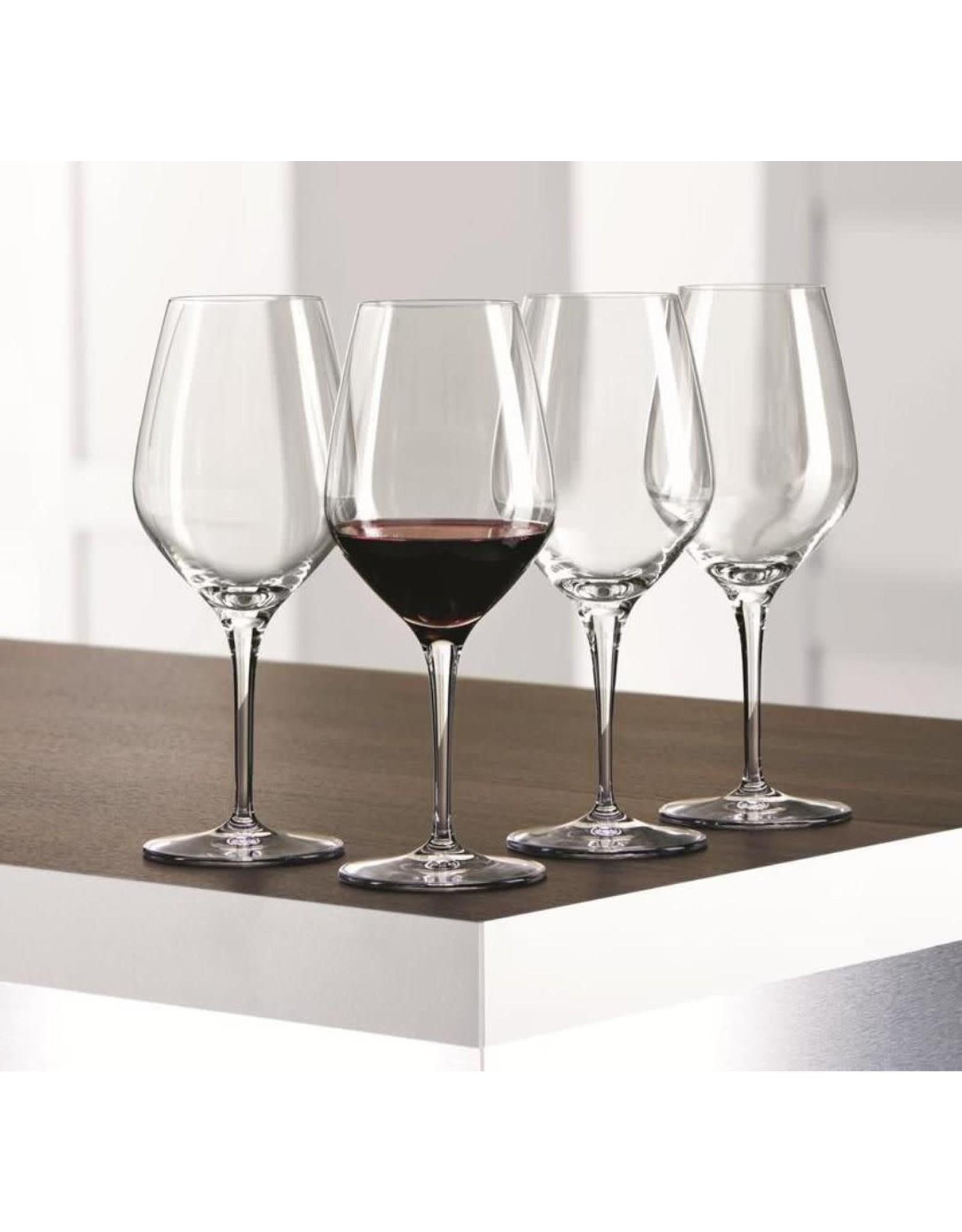 spiegelau Spiegelau. Rode wijn-/ waterglas 'Authentis', 480 ml. Set van 4 stuks