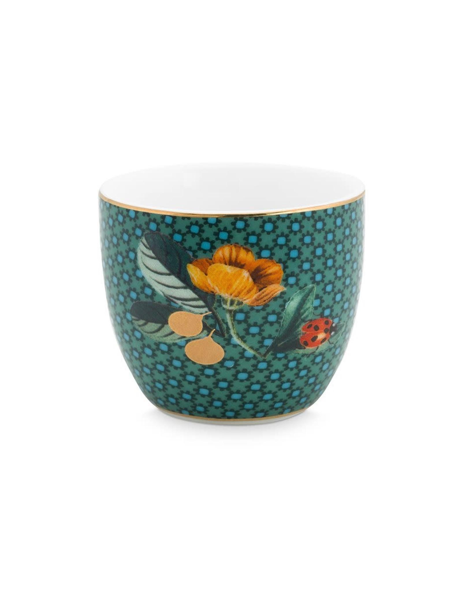 pip-studio Pip-Studio. Egg Cup Winter Wonderland Ladybug Green