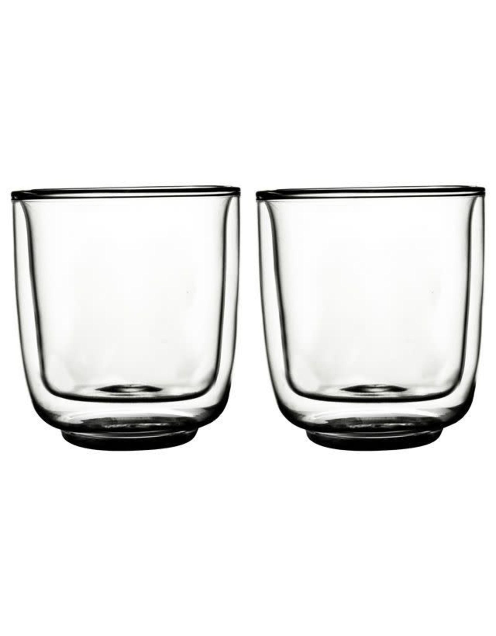 Gusta Gusta. FIKA glas dubbelwandig 250 ml - 2 stuks
