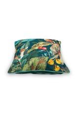 pip-studio Pip-Studio. Cushion Foliage Blue 50x50cm