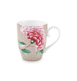pip-studio Pip Studio. Mug Large Blushing Birds Khaki 350ml