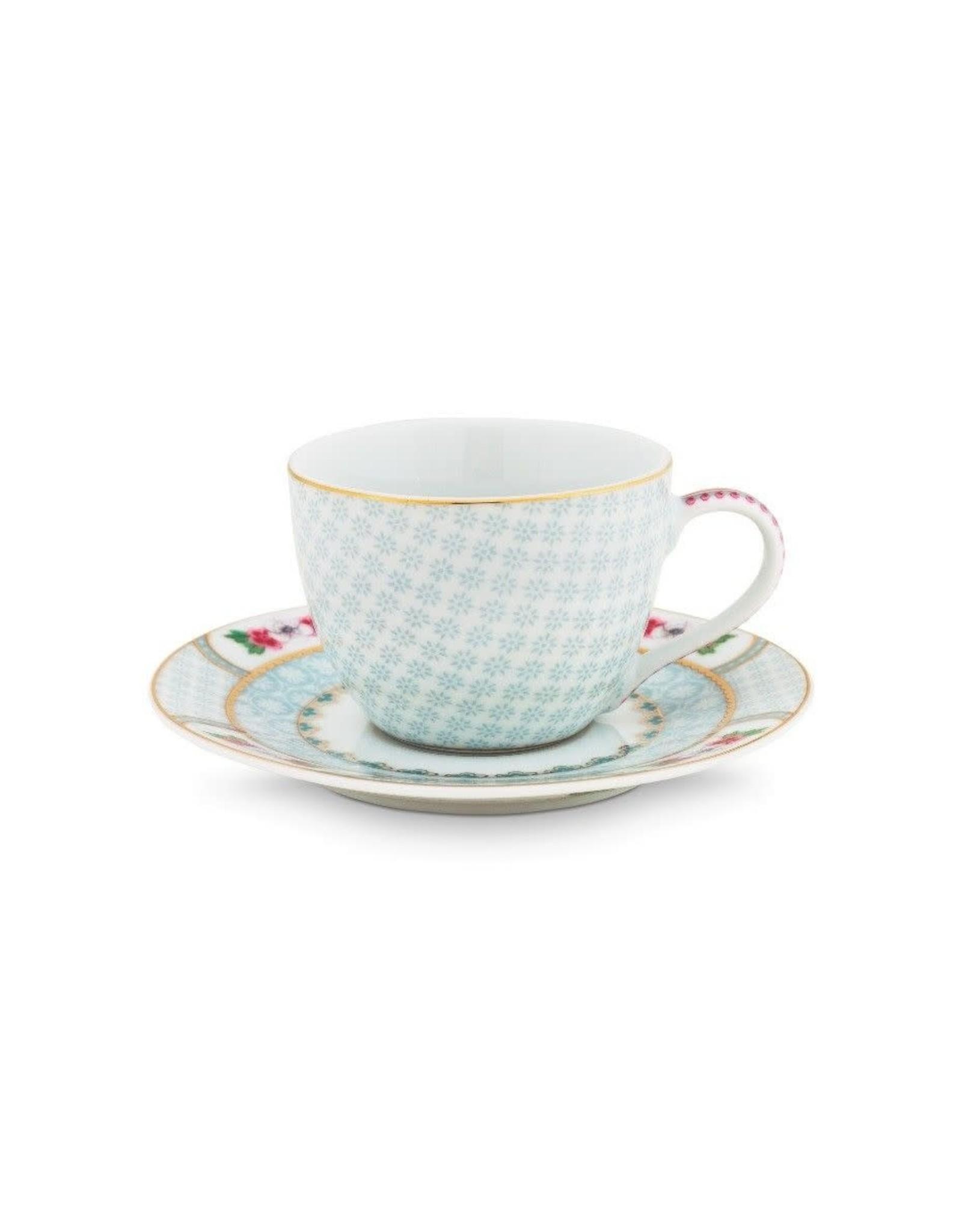 pip-studio Espresso Cup & Saucer Blushing Birds White 120ml