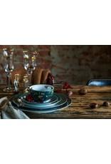 pip-studio Pip-Studio. Plate Winter Wonderland Overall Dark Blue 32cm