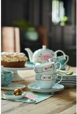 pip-studio Pip Studio. Tea Tip Blushing Birds Blue 9cm