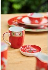 pip-studio Pip Studio. Tea Tip Blushing Birds Red 9cm