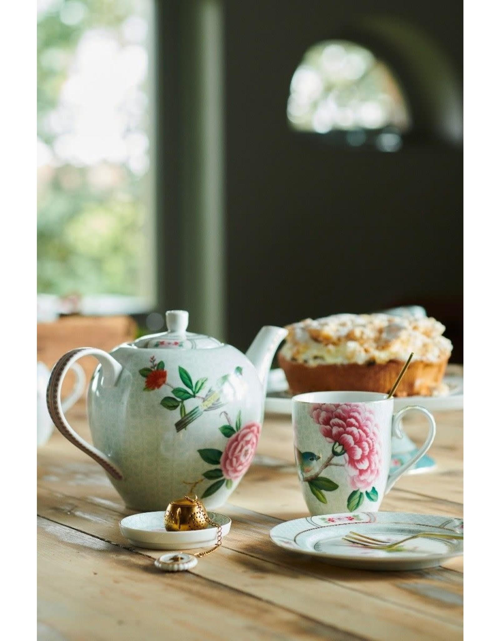pip-studio Pip Studio. Tea Tip Blushing Birds White 9cm