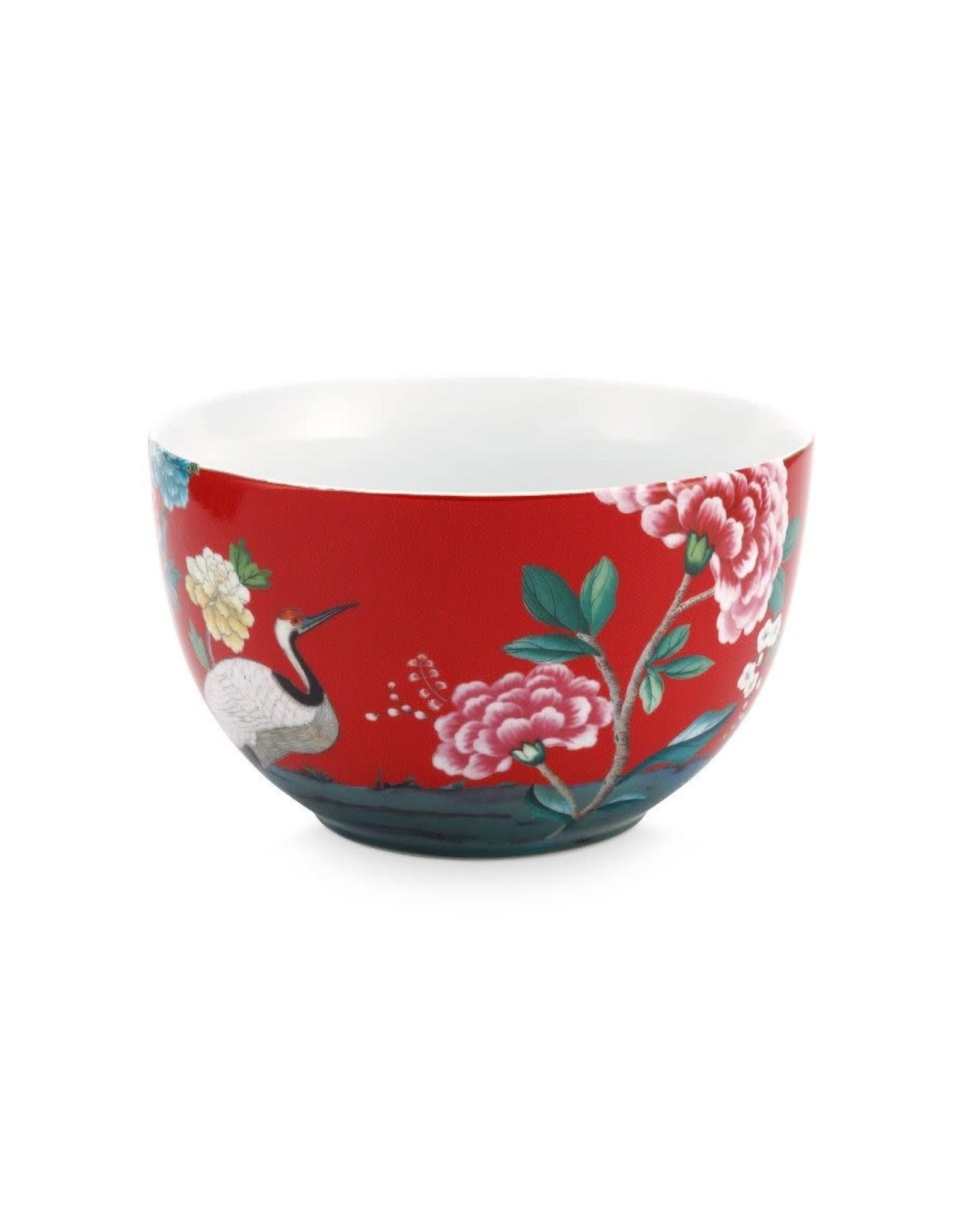 pip-studio Pip Studio. Bowl Blushing Birds Red 23cm