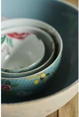 pip-studio Pip Studio. Bowl Blushing Birds Blue 23cm