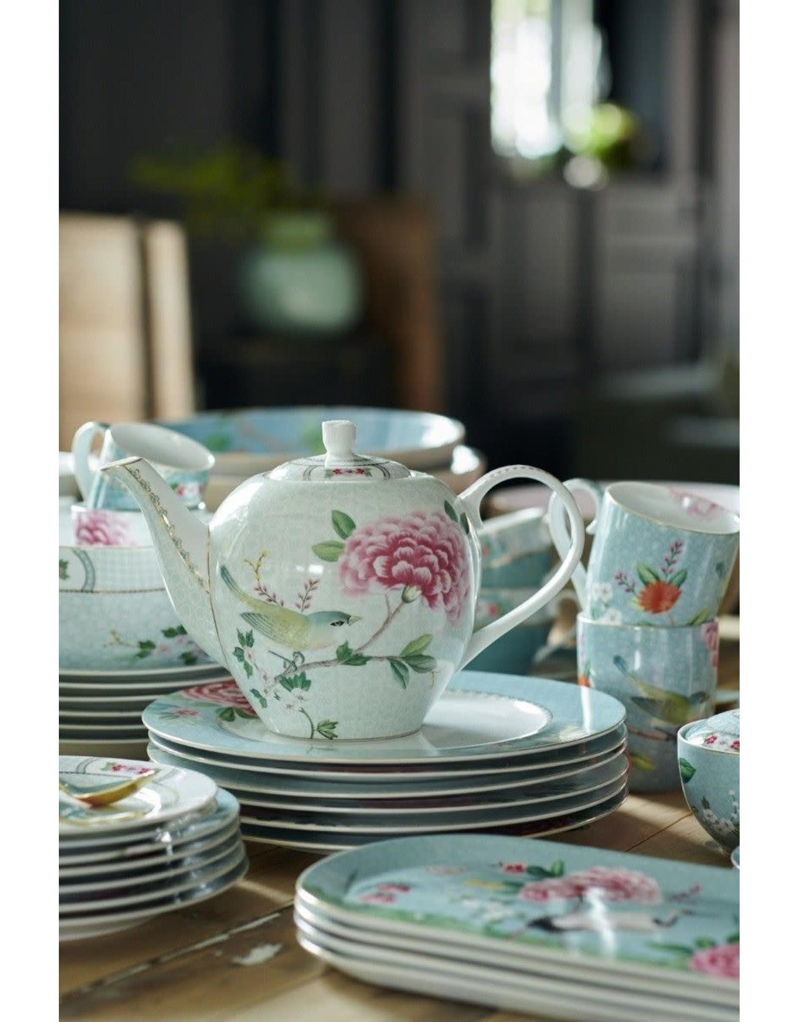 pip-studio Pip Studio. Tea Pot Large Blushing Birds White 1.6ltr