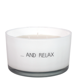 myflame My Flame. SOJAKAARS - AND RELAX - GEUR: FRESH COTTON