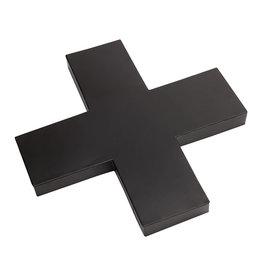 vt-wonen VT-WONEN. Cross Metal Black 40cm