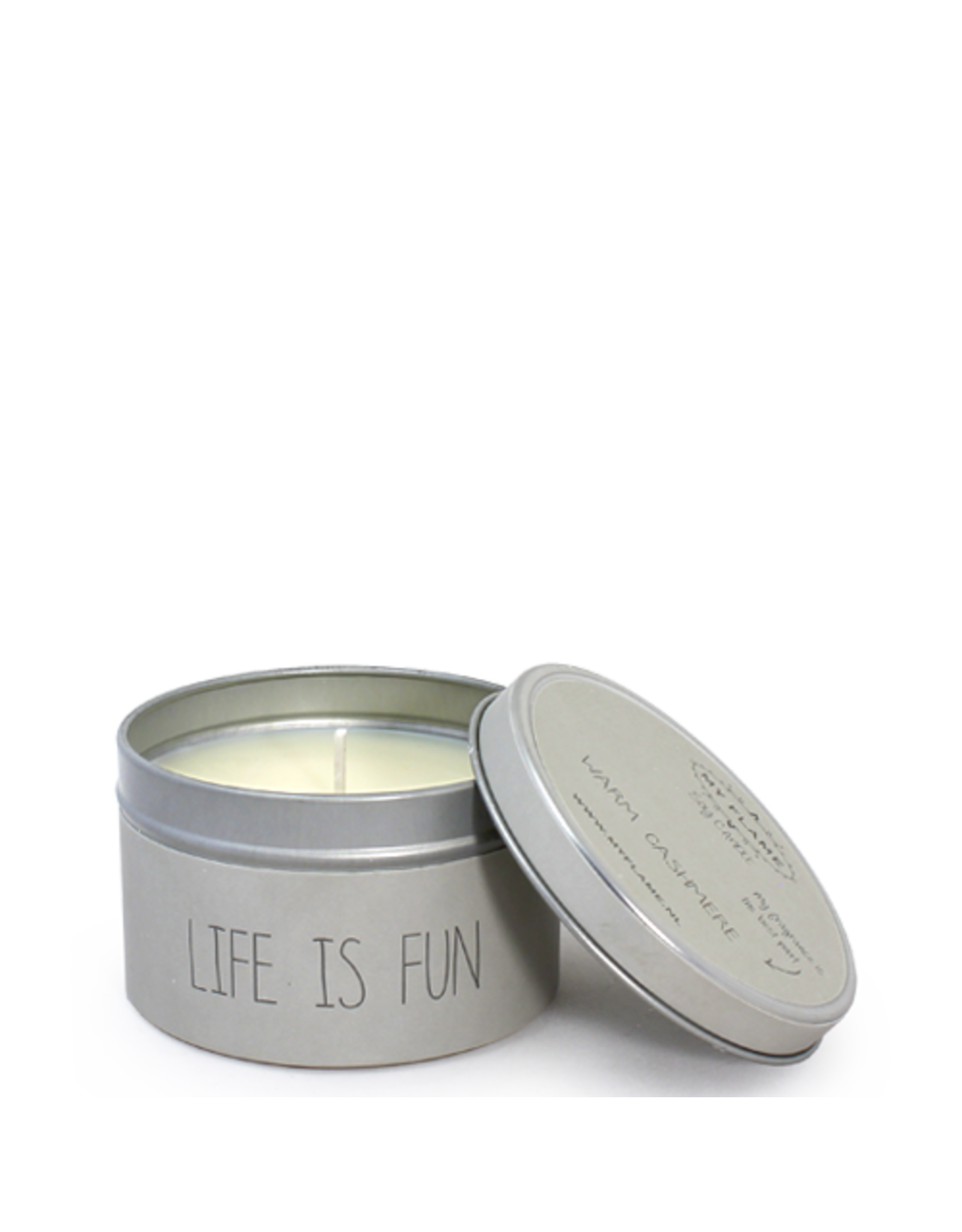 myflame My Flame. SOJAKAARS XS - LIFE IS FUN - GEUR: WARM CASHMERE