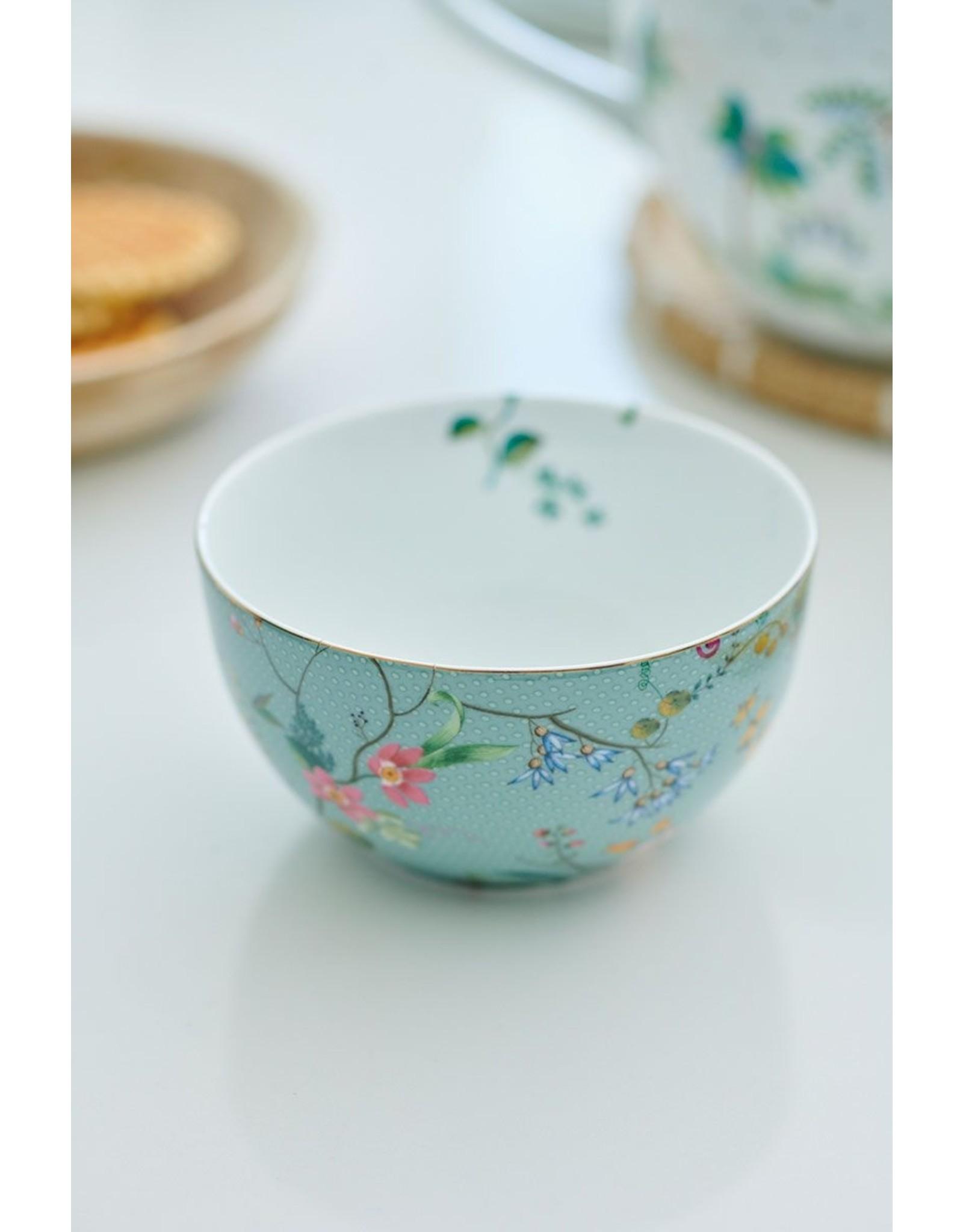 pip-studio Pip-Studio. Bowl Jolie Flowers Blue 12cm