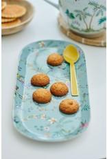 pip-studio Pip-studio. Jolie cake tray rectangular flowers blauw