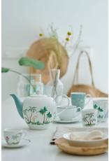 pip-studio Pip-Studio. Jolie set van2 mokjes klein flowers blauw