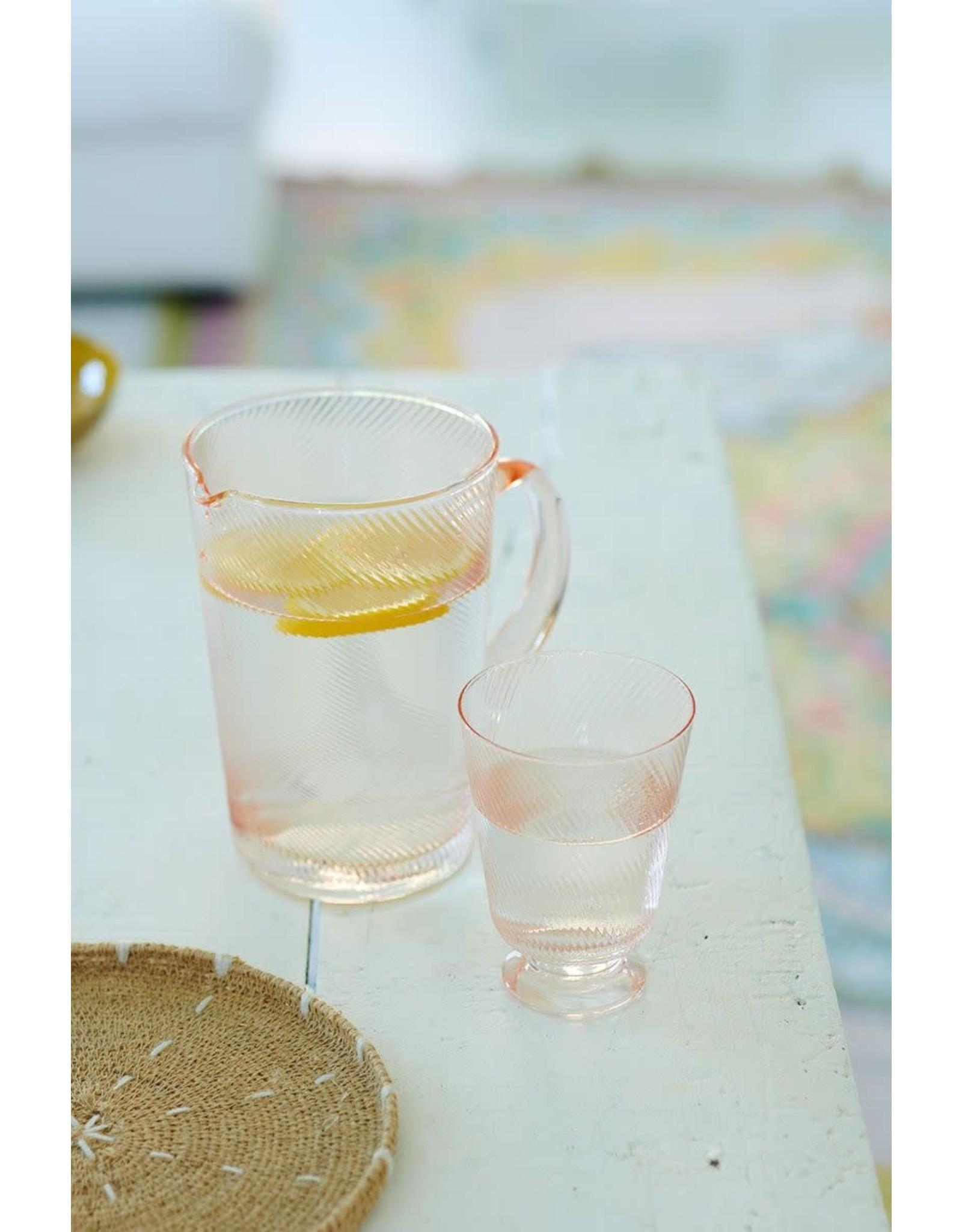 pip-studio Pip Studio. Water glas gedraaid roze