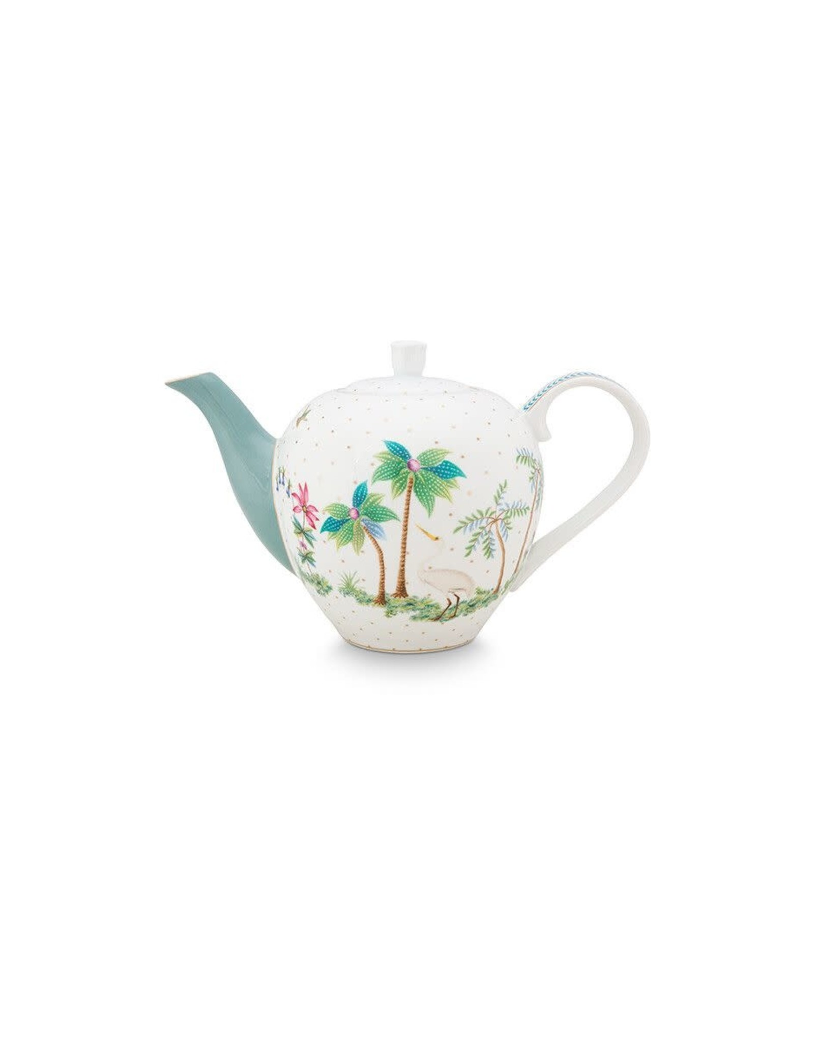 pip-studio Pip Studio. Tea Pot Small Jolie Dots Gold 750ml