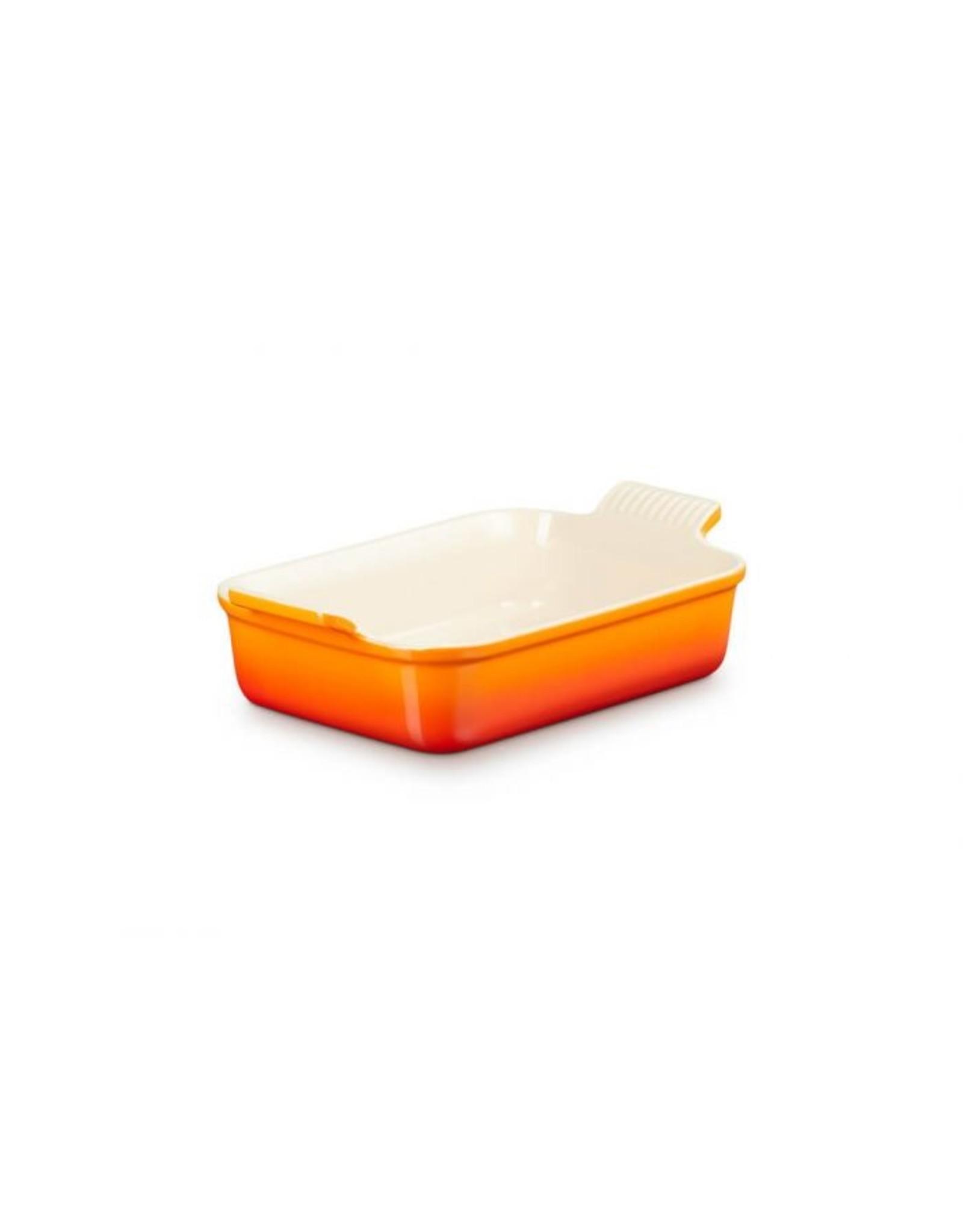 Le Creuset Rechthoekige ovenschaal Oranjerood 32 cm